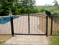 Aluminum fence chester county