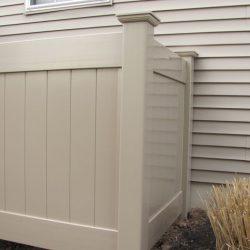 Khaki Privacy Fence