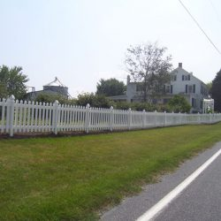 picket style pvc fencing services