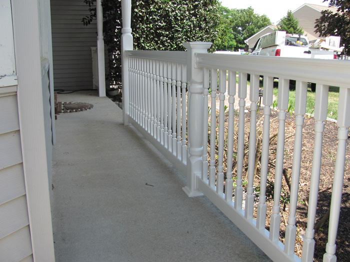 Porch Railing 165 Smucker Fencing