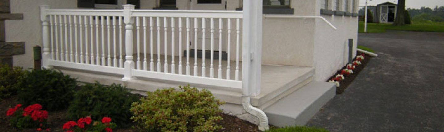 Vinyl Porch Railing Chester PA