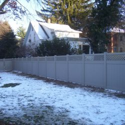 vinyl fencing and gates that require little to no maintenance