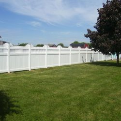 the best vinyl privacy and pool fence installation