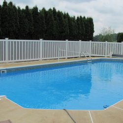 vinyl pool fence installation services in chester county
