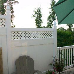 vinyl picket fence in asbury pa
