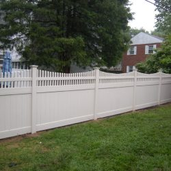 privacy fence in brandywine
