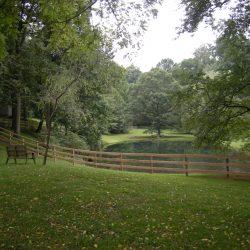 backyard wood fence in pa
