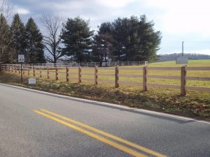 wooden fences and gates