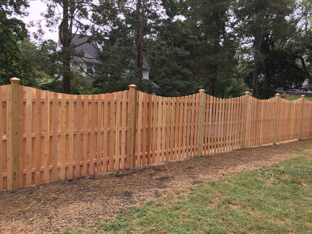 Wood Fence Wood Fencing Installation Chester County
