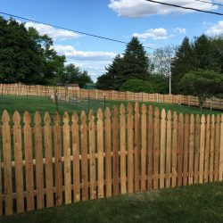 Red Cedar French Gothic Concave Picket