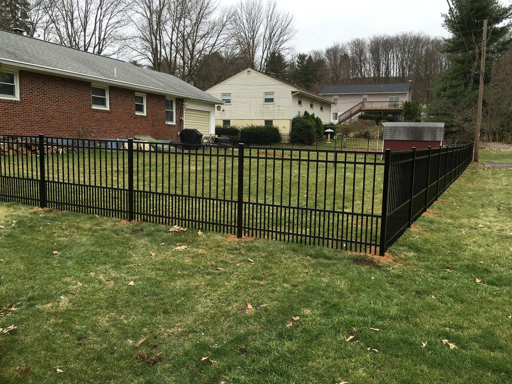 Aluminum Fence Installation Affordable Fencing In