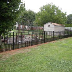 aluminum fence panel pictures