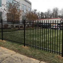 aluminum privacy fences designed for industrial use