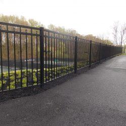 aluminum rail fence panels