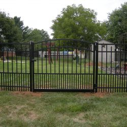commercial aluminum fence and gate inspiration