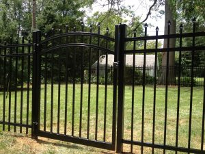 durable and beautiful commercial aluminum fence gates