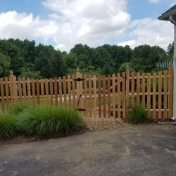 french gothic style wood fence company