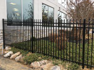 industrial aluminum fences