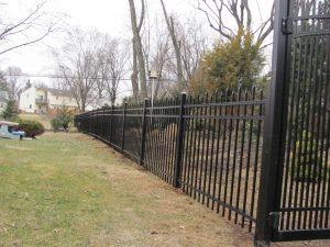 premium aluminum fence ideas