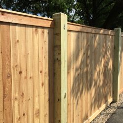 Red Cedar 1x4 Privacy w/ Top & Bottom Trim