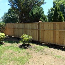 Red Cedar 1x6 T&G Privacy w/ Trim ( Back Side)