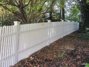 red cedar wood fence