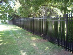 regis brand aluminum fence ideas