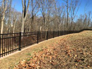 regis brand aluminum fence panels for commercial properties