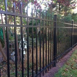 regis brand aluminum fence