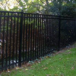 regis brand industrial fencing installation