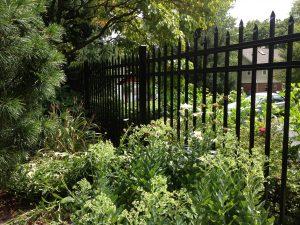 tall aluminum fence panel inspiration