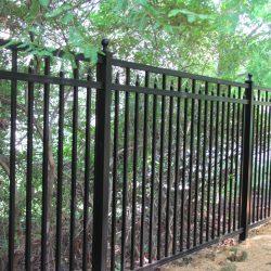 tall aluminum fence panels