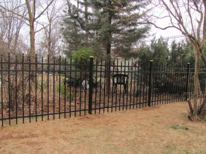 top quality residential aluminum fence ideas