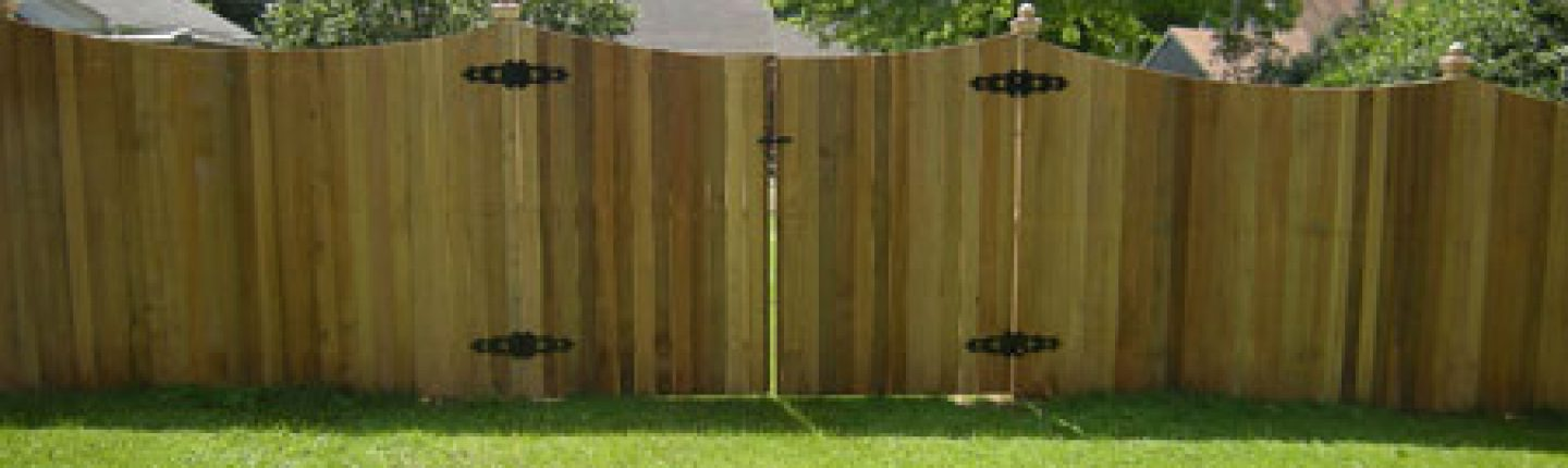 Wooden Privacy Fence for You and Neighbors