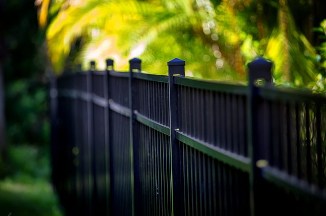 Aluminum Fence Designs and Styles