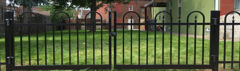 Short Aluminum Fence Design