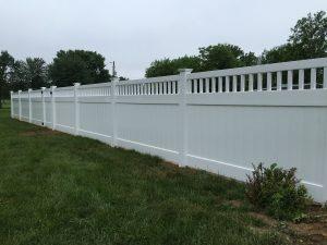 low maintenance vinyl privacy fence company