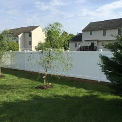 vinyl fence for residential properties in pa