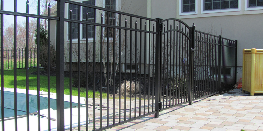 Aluminum Fencing Upgrade from Wooden