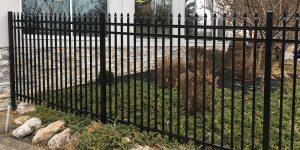 Commercial Aluminum Fence Installation