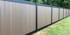 Composite Fencing Upgrade