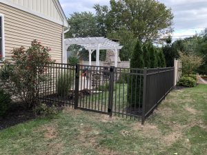 chester county aluminum fence panel inspiration