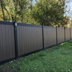 modern vinyl privacy fencing style inspiration