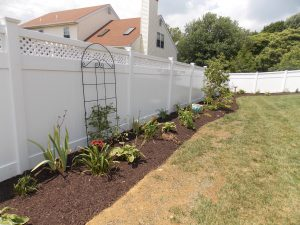 pvc privacy fencing installation inspiration