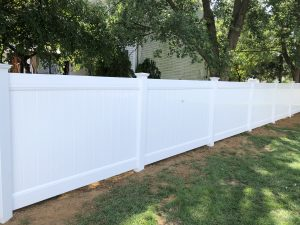 traditional white pvc fencing inspiration
