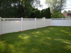 vinyl privacy fence installation inspiration