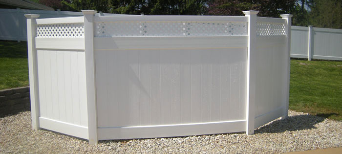 Total backyard privacy fence