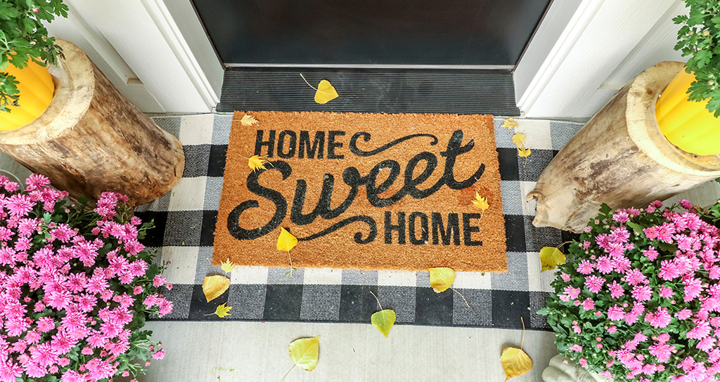 Home porch makeover decorations