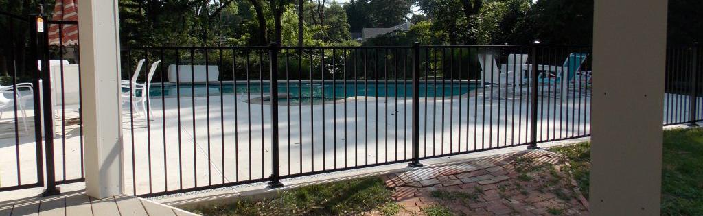 Aluminum fence proving durablity