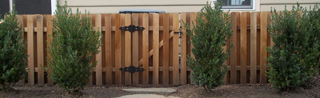 Short Wooden fence for residency